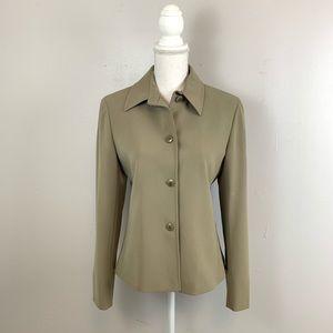 MaxMara Italy Button Down Blazer Jacket